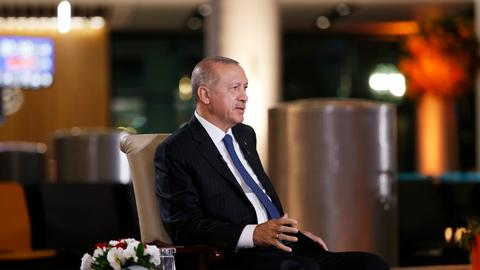 Erdogan reveals plans for Turkey's new presidential system