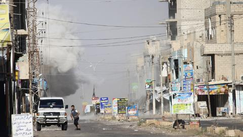 Syrian regime intensifies offensive in Daraa province