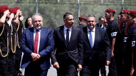 Greek Cypriots to deepen military ties with Israel and Greece