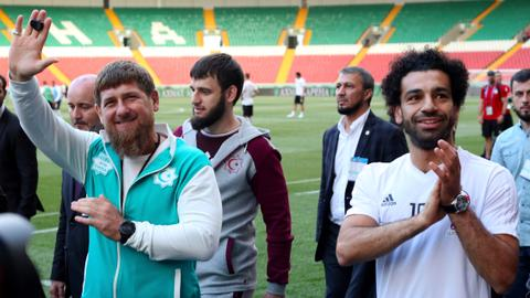 Chechen leader makes Mohamed Salah honorary citizen