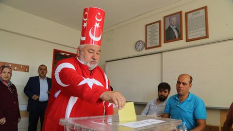 Turkey's 2018 elections in pictures