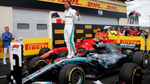 Hamilton wins French Grand Prix to retake lead in F1 title race