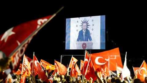 Outpour of celebrations as results of Turkey elections announced