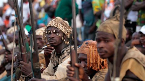 Traditional hunters kill 32 villagers in Mali