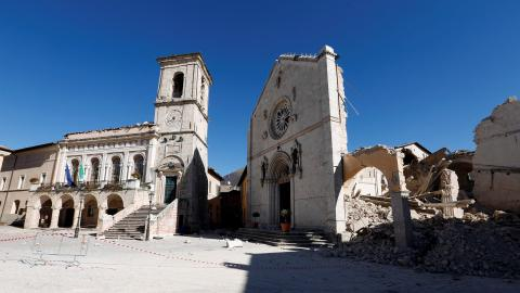 Another earthquake strikes central Italy