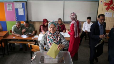 What was the Kurds' decision in Turkey's elections?