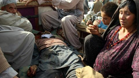 Dozens of Afghan civilians killed in US bombardment