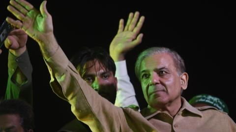 PML-N leader Sharif launches bid to run for Pakistan's prime minister