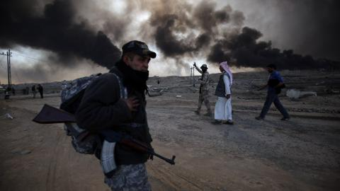 The troublesome role of militias in Mosul