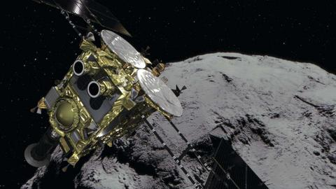 Japan's spacecraft arrives at Ryugu asteroid to collect samples