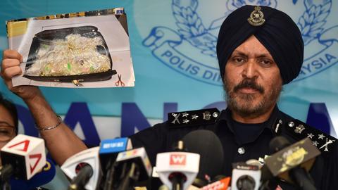 Malaysian police estimate goods seized from former PM Najib worth $205M