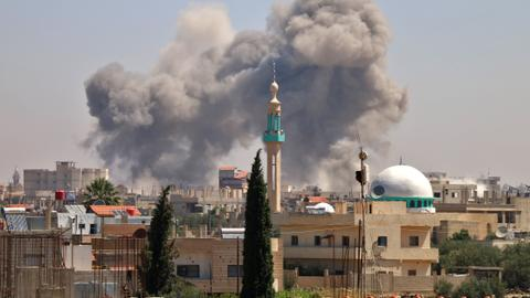 Syrian regime air strikes leaves three hospitals out of service