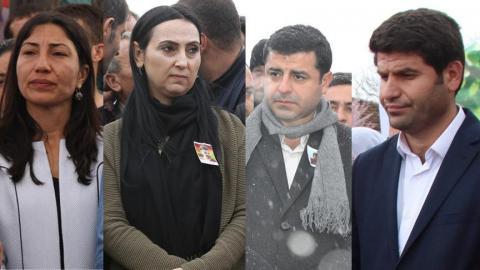 HDP lawmakers arrested in Turkey terror probe