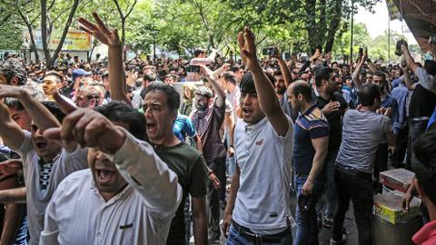 Strikes against economic conditions in Iran pile pressure on government
