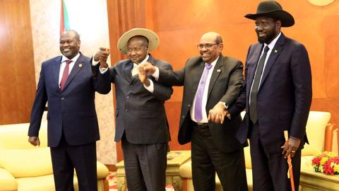 South Sudan rivals sign peace agreement in Khartoum