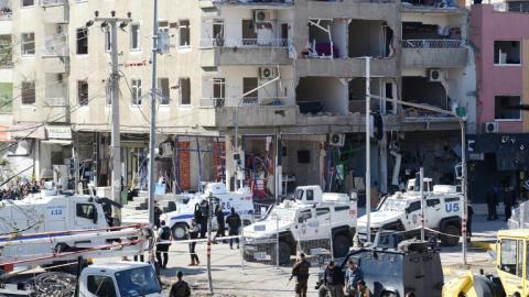 Car bomb blast in Turkey's Diyarbakir kills 11