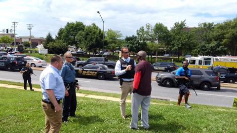 Shooting at newsroom in Maryland claims five lives