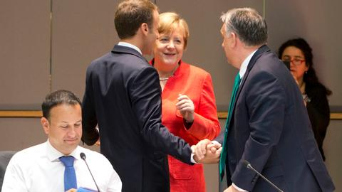 EU gets migration deal after marathon talks but differences remain