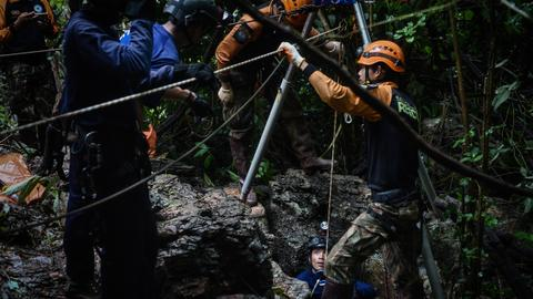 Thailand cave rescue efforts pick up pace as flooding eases