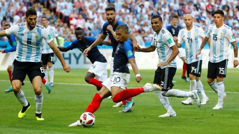 Mbappe double sees France past Argentina in 4-3 thriller
