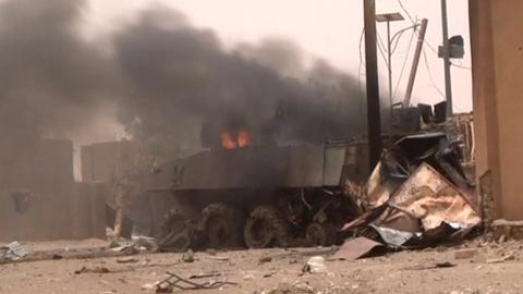 Mali car bomb attack kills four civilians, wounds 31