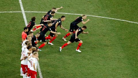 Croatia beat Denmark to reach World Cup quarter-finals