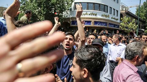 Gunfire and clashes amid protests over water scarcity in Iran