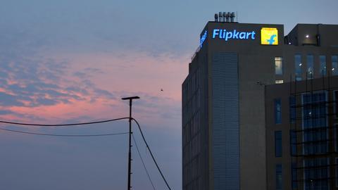 Indian traders protest $16 billion Walmart-Flipkart deal