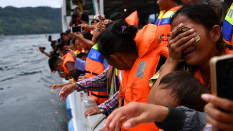 Search ends for victims of ferry sinking in Indonesia's Lake Toba