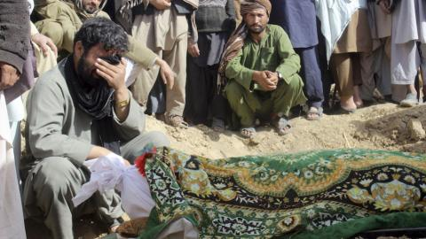 Afghan villagers recall night of deadly US air strikes