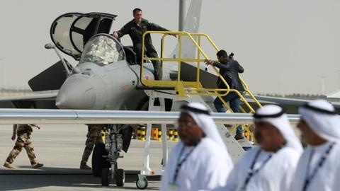 French weapons sales double in Middle East – report