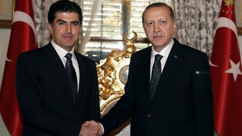 PKK uses Kurdish region to attack Turkey: Barzani