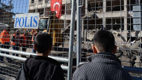 Turkey detains 10 suspects over Diyarbakir blast