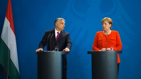 Merkel and Orban clash over asylum seekers