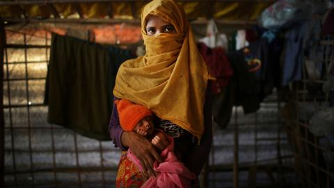 Ten months on, the babies of Rohingya rape survivors arrive