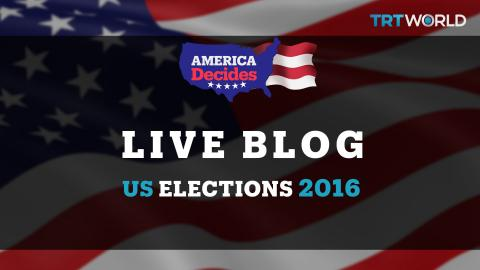 US Election 2016 live coverage