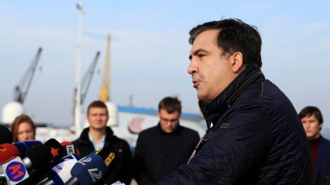 Georgia's Saakashvili resigns as Ukraine Odessa governor