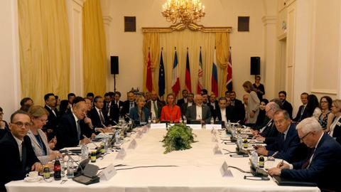 Iran and five world powers meet in Austria over Iran's nuclear deal