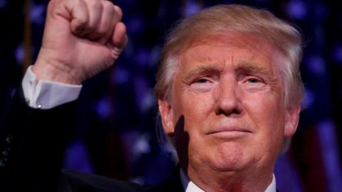 Ultimate political outsider Donald Trump wins the White House
