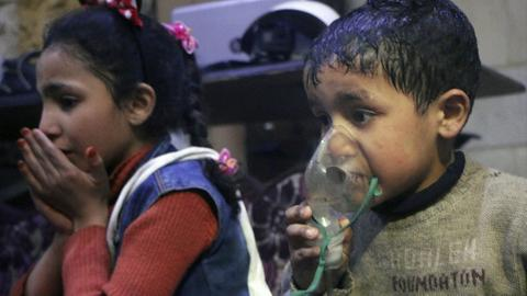 Chlorine gas but no nerve agent in Douma attack says chemical watchdog