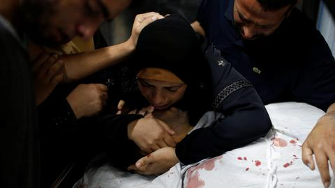 Palestinian killed as Gaza protests against Israel enter 4th month