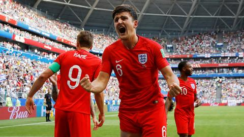 England down Sweden 2-0 to reach World Cup semifinals
