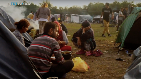 Refugee numbers swell on Bosnia-Croatia border worrying aid groups