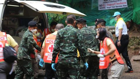 At least four boys rescued from Thai cave - medical team