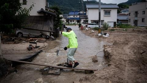 Toll nears 81 as Japan scrambles to rescue flood victims