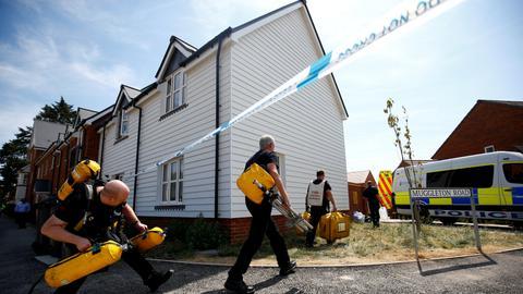 British woman poisoned with Novichok nerve agent dies