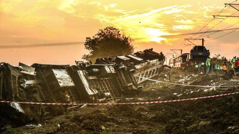 Death toll rises to at least 24 in Turkey train derailment