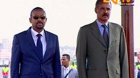 'State of war' ends between Ethiopia and Eritrea