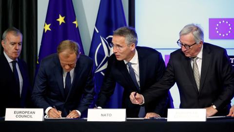EU chief reminds Trump who is whom in Europe