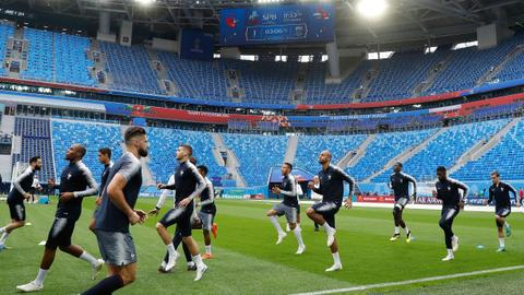 National tensions simmer ahead of France-Belgium World Cup semi-final